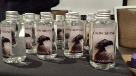 Crow Shine Moonshine courtesy of Alan Baxter
