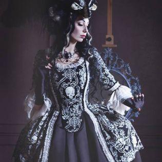 Gothic Rococo Dress