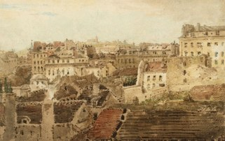 T Girtin, 'Paris, View over the Rooftops towards Montmartre', 1801-02